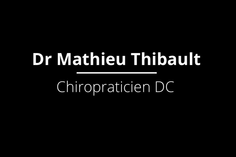 Mathieu Thibault Chiropracticien